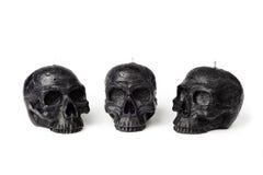 Bougies de crâne Photo libre de droits
