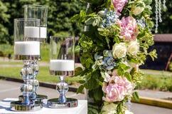 Bougies de décor Image stock