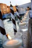 Bougies de flottement Images libres de droits