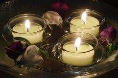 Bougies de flottement Image libre de droits