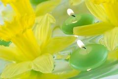 Bougies de flottement Image stock