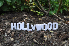 Bougies de Hollywood Photo libre de droits