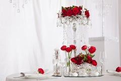 Bougies de mariage Photos libres de droits