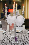 Bougies de mariage Photographie stock