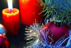 Bougies de Noël image stock