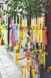 Bougies de Pâques à vendre Photos stock