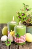 Bougies de Pâques Photographie stock