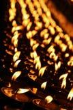 Bougies de prière Photographie stock