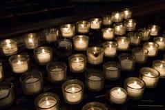 Bougies de prière Images libres de droits