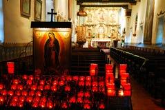 Bougies de prière photographie stock libre de droits