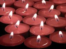 Bougies de souvenir Photographie stock libre de droits