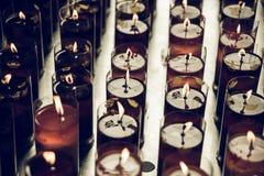Bougies de temple chinois Photo libre de droits