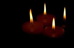 bougies quatre Image libre de droits