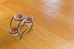 Bougies votives Photographie stock libre de droits