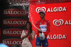 Bouhanni celebration Stock Images