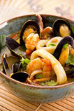 Bouillabaisse in a Bowl Royalty Free Stock Photography