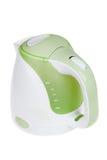 Bouilloire électrique moderne, équipement de cuisine, d'isolement sur le blanc Image stock