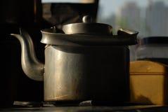 Bouilloire de thé Photo stock