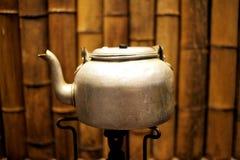Bouilloire de thé de cuivre Photo libre de droits