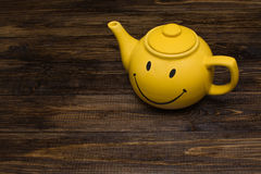 Bouilloire jaune Image stock