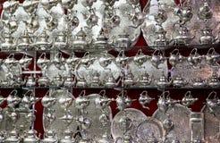 Bouilloires marocaines traditionnelles photos stock