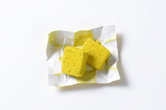 Bouillon cubes Stock Photo
