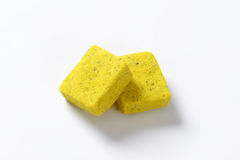 Bouillon cubes Royalty Free Stock Photography