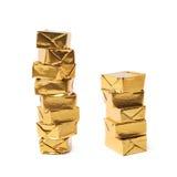 Bouillon stock broth cube isolated Royalty Free Stock Photos