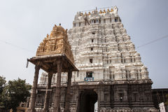 14 bouilt世纪印度kamakshiamman kanchipuram nadu泰米尔人寺庙Th 库存图片