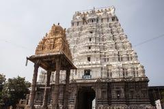 14 bouilt αιώνα της Ινδίας kamakshiamman kanchipuram θόριο ναών nadu tamil Στοκ Εικόνα