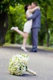 Bouket romántico de los pares Fotos de archivo libres de regalías