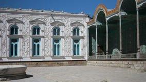 Boukhara, Oezbekistan, Sitorai van Mocha Hosa, of sitorai-Makhi-Hasa Sitorai Mohi Xossa Saroyi het Paleis, gelijkend op stock videobeelden