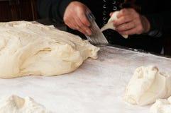 Boulanger d'artisan Images libres de droits