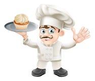 Boulanger de gâteau Photo stock