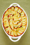 Boulangere or Scalloped Potatoes Stock Image