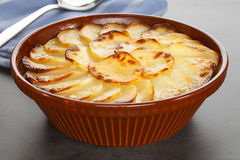 Boulangere or Scalloped Potatoes Royalty Free Stock Photography