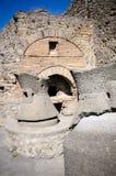 Boulangerie à Pompeii photo libre de droits