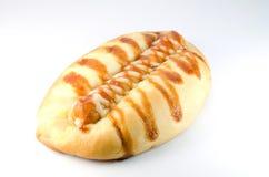 Boulangerie avec la saucisse Photos libres de droits