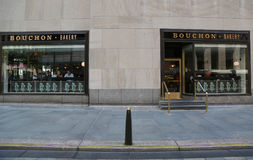Boulangerie célèbre de Bouchon par Michelin Star Chef Thomas Keller dans Midtown Manhattan Photo libre de droits