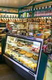 Boulangerie célèbre de loge de restoroute de l'Alaska Talkeetna Photo stock