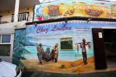 Boulangerie de Loulou dans le saint Gilles, La Reunion Island, France Photographie stock
