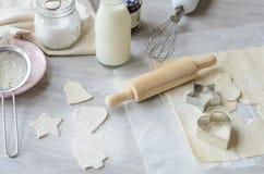 Boulangerie de Noël Photographie stock libre de droits