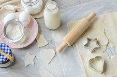 Boulangerie de Noël Photographie stock