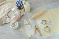 Boulangerie de Noël Photo libre de droits