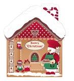 Boulangerie de Noël Photo stock