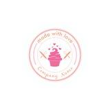 Boulangerie, dessert Logo Vector Art Design Illustration Images libres de droits