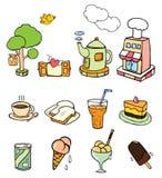 Boulangerie et café Photographie stock
