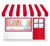 Boulangerie française. illustration libre de droits