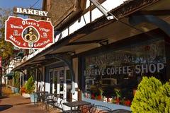 Boulangerie, Solvang, la Californie photographie stock
