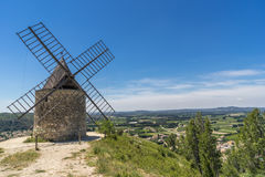 Boulbon in the Bouches du Rhone Stock Image